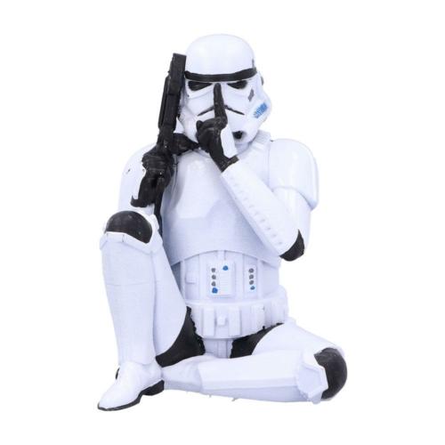 Star Wars Original Stormtrooper Speak No Evil Stormtrooper műgyanta Rohamosztagos figura 10 cm