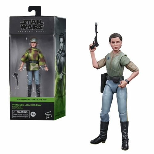Star Wars Black Series Princess Leia Organa (Endor) (Episode VI)  15 cm 2020 Wave 4 mozgatható figura