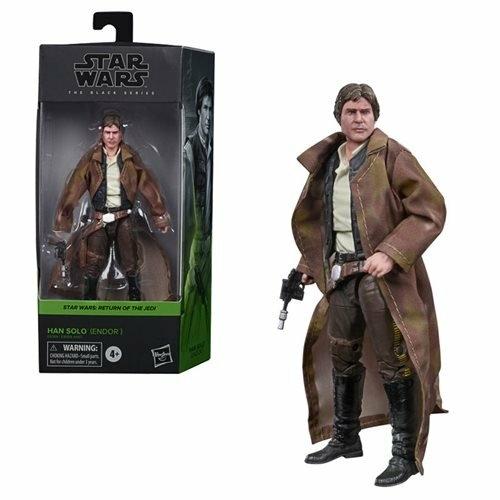 Star Wars Black Series Han Solo (Endor) (Episode VI) 15 cm 2020 Wave 4 mozgatható figura