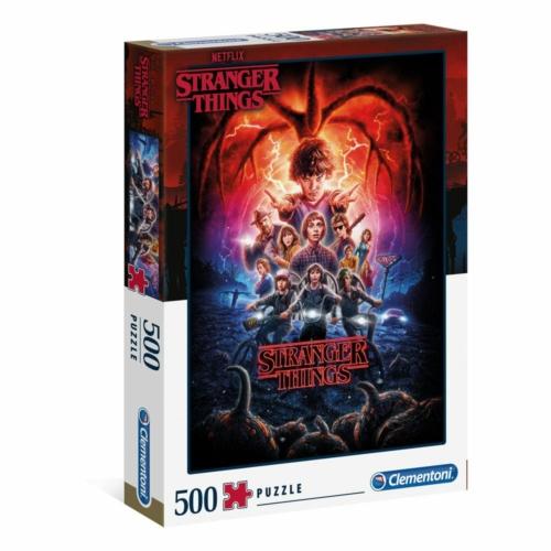 Stranger Things puzzle kirakós (500 darabos) 49cm x 36cm