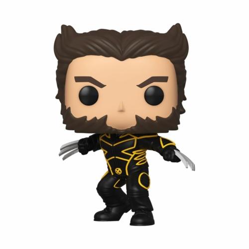 Marvel X-Men 20th Anniversary POP! Marvel Wolverine In Jacket Rozsomák figura 9 cm