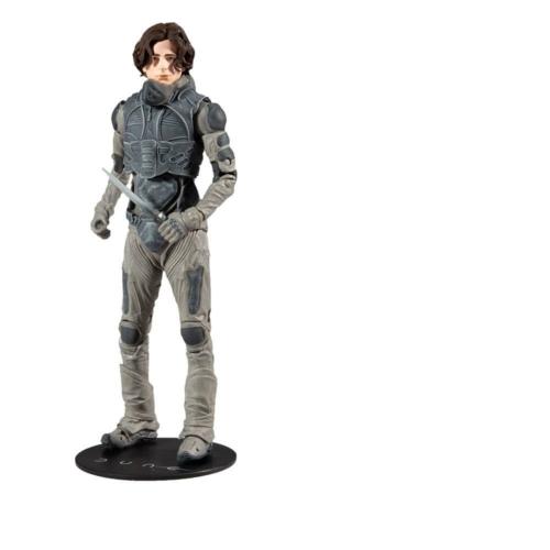 DUNE Paul Atreides mozgatható gyűjtői figura kiegészítőkkel 18 cm