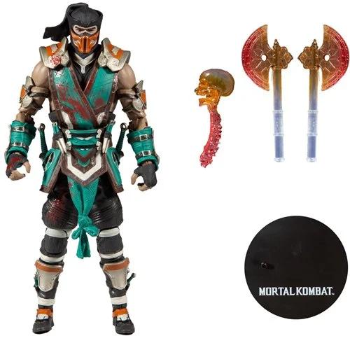 Mortal Kombat 4 Sub-Zero Frozen Over Bloody  mozgatható gyűjtői figura 18 cm
