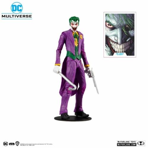 DC Multiverse mozgatható gyűjtői figura Modern Comic Joker 18 cm kiegészítőkkel,talpazattal,gyűjtői dobozban