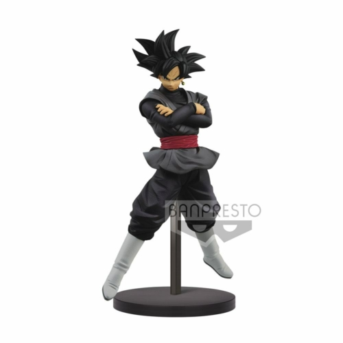 DRAGON BALL  Super Chosenshiretsuden PVC Statue Goku Black figura 17 cm