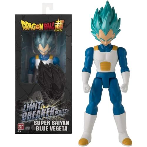 DRAGON BALL Super Limit Breaker series Super Saiyan Blue Vegeta nagyméretű mozgatható figura 30 cm