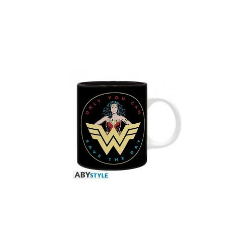 DC Comics Wonder Woman Save the day bögre 320 ml