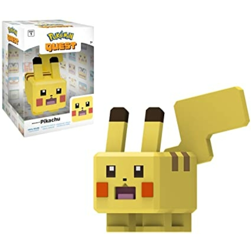 Pokemon Quest Pikachu Pixel Art figura 10 cm