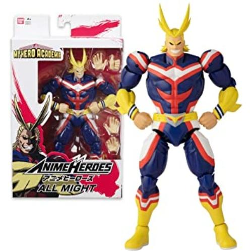 My Hero Academia Anime Heroes All Might mozgatható figura 20 cm