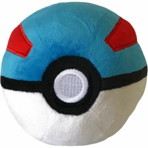 Pokemon Greatball plüss pokelabda 12 cm