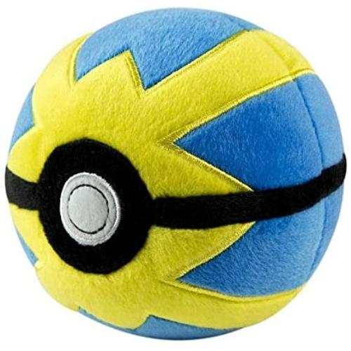 Pokemon Quickball plüss pokelabda 12 cm