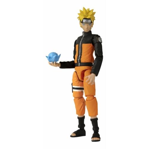 Naruto Shippuden Anime Heroes Uzumaki Naruto mozgatható figura 17 cm