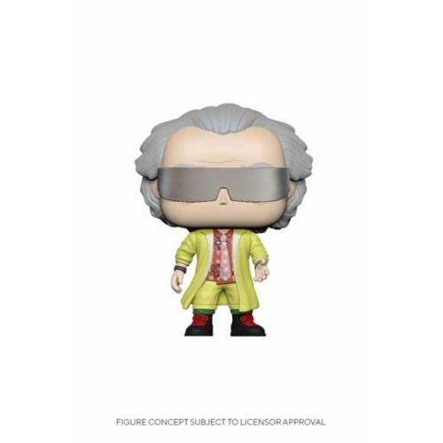 PoP! Back to the Future Doc Brown Vissza a Jövőbe Brown Doki 2015 figura 9 cm (960)