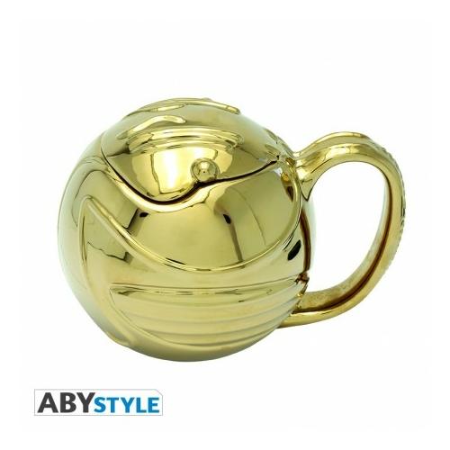 HARRY POTTER 3D bögre Golden Snitch Arany Cikesz 450 ml