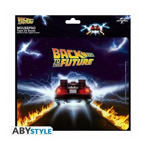Back to the Future-Vissza a Jövőbe DeLorean flexi egérpad 23,5 x 19,5cm