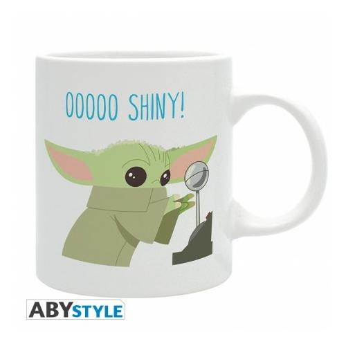 Star Wars THE MANDALORIAN Baby Yoda  Grogu chibi bögre 320 ml