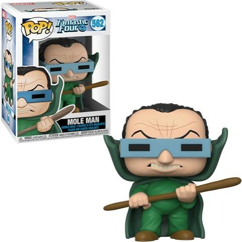 PoP! Marvel Fantastic Four  Mole Man POP! figura 9 cm (562)