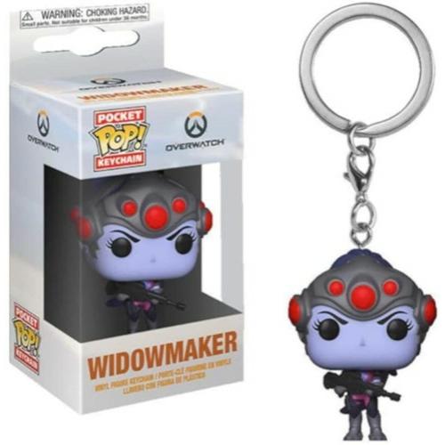 POP!  Funko Pocket POP! kulcstartó figura Overwatch Widowmaker 4 cm