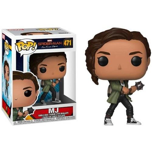PoP! Spider-Man Far From Home - MJ (Zendaya) POP! figura 9 cm - Enyhén Sérült