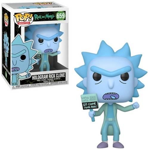 PoP! Animation Rick & Morty  Hologram Rick Clone POP! figura 9 cm
