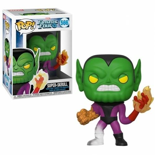 POP! Fantastic Four Super Skrull POP! figura 9 cm