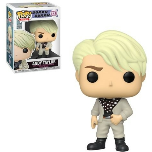 PoP! Rocks Duran Duran Andy Taylor POP figura 9 cm (127)