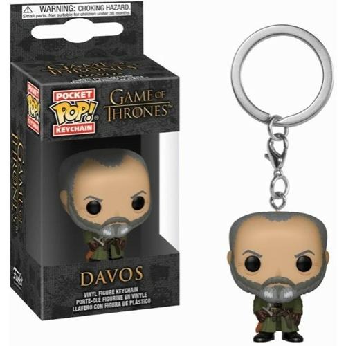 PoP! Funko Pocket POP! Kulcstartó figura Game of Thrones Davos 4 cm