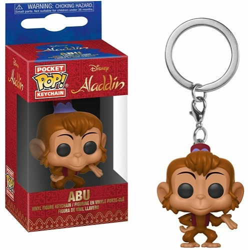 POP! Kulcstartó figura Disney Aladdin Abu 4 cm