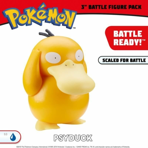 Pokemon Battle figure Psyduck figura 8 cm
