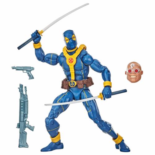 MARVEL Legends Series Deadpool Wave 1 Deadpool Blue suit mozgatható akció figura 16 cm
