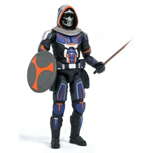 MARVEL Black Widow Movie Marvel Select Taskmaster mozgatható akció figura 18 cm