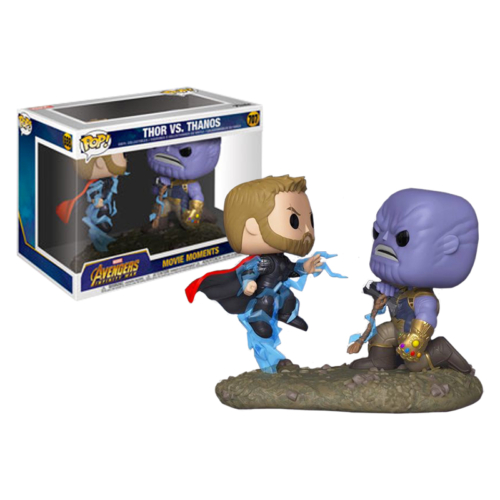 PoP! Marvel Movie Moments dupla figura Thor & Thanos 9 cm