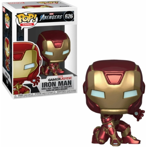 PoP! Marvel's Avengers (2020 video game) Iron Man figura 9 cm