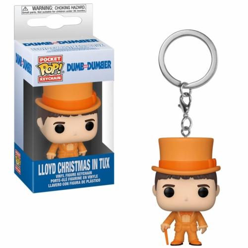 POP! Dumb and Dumber Lloyd Christmas in Tux Display kulcstartó figura 4 cm