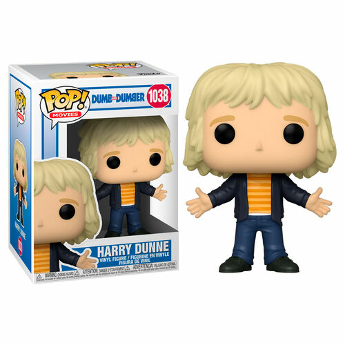 POP! Dumb and Dumber Movies Harry Dunne figura 9 cm