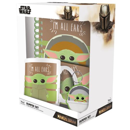 Star Wars The Mandalorian Baby Yoda Grogu Prémium Ajándék Készlet I'm All Ears