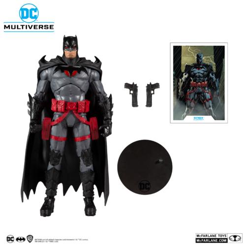 DC BATMAN Multiverse Flashpoint Batman mozgatható akciófigura 18 cm