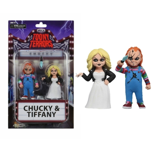 Bride of Chucky Toony Terrors Action Figure 2-Pack Chucky & Tiffany duplafigura 15 cm