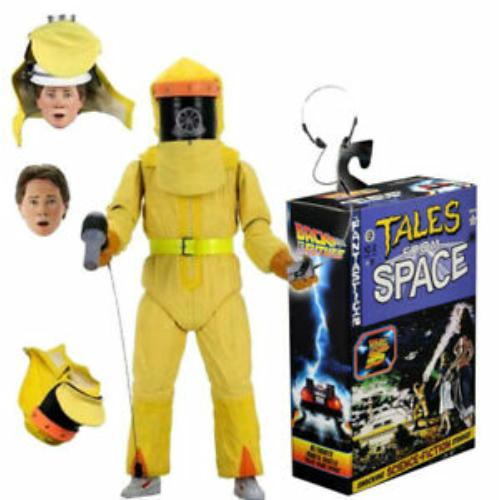 BACK TO THE FUTURE - Vissza a Jövőbe Ultimate Tales from Space Marty McFly figura kiegészítőkkel 18 cm