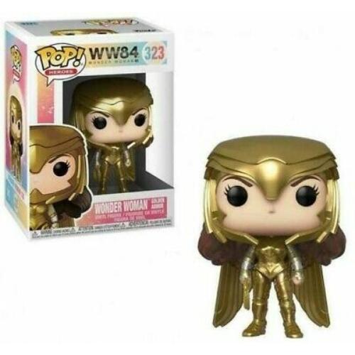 DC Comics Wonder Woman  WW84 Golden armor (323) POP figura