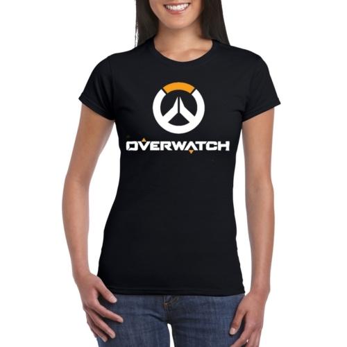 Overwatch logo női póló S