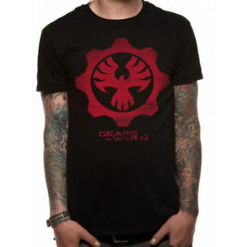 Gears of War red Phoenix póló S