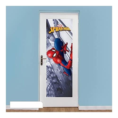 Spider-man ajtó poszter