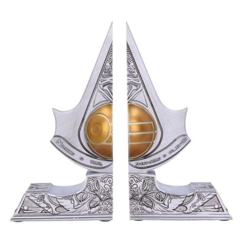 Assassin's Creed kézzel festett műgyanta prémium minőségű könyvtámasz Apple of Eden