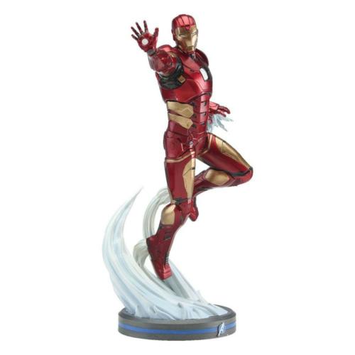 Avengers A Bosszúállók 2020 Video Game PVC Statue 1/10 Iron Man szobor 22 cm
