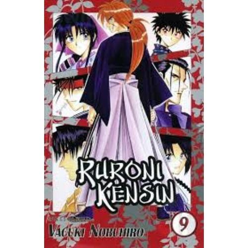 Ruroni Kenshin manga 9