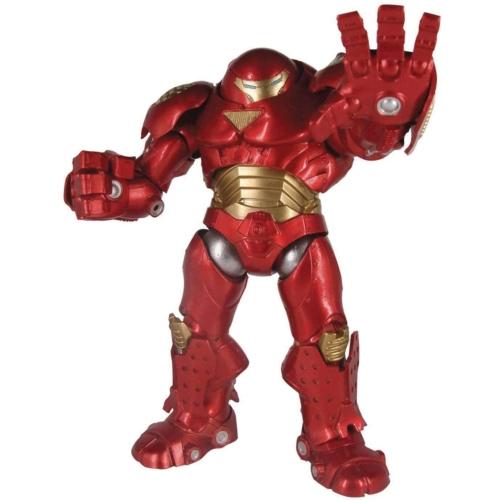 MARVEL Comics Hulkbuster Iron Man figura -Hulkzúzó páncélos Vasember - Marvel Select Hulk Buster Avengers / Bosszúállók  mozgatható figura 20 cm