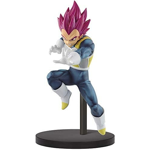 Dragon Ball Super Chosenshiretsuden PVC Statue Super Saiyan God Vegeta figura 13 cm