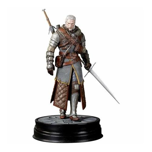 Witcher 3 Wild Hunt PVC Statue Geralt Grandmaster Ursine Vaják figura szobor 24 cm