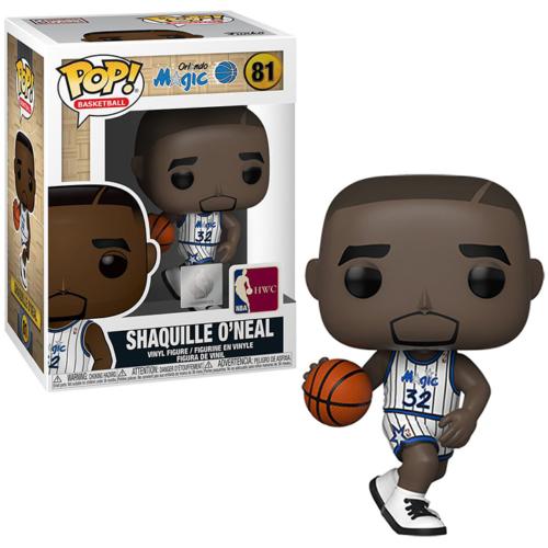 PoP! NBA Legends Sports Shaquille O'Neal (Magic home) figura 9 cm